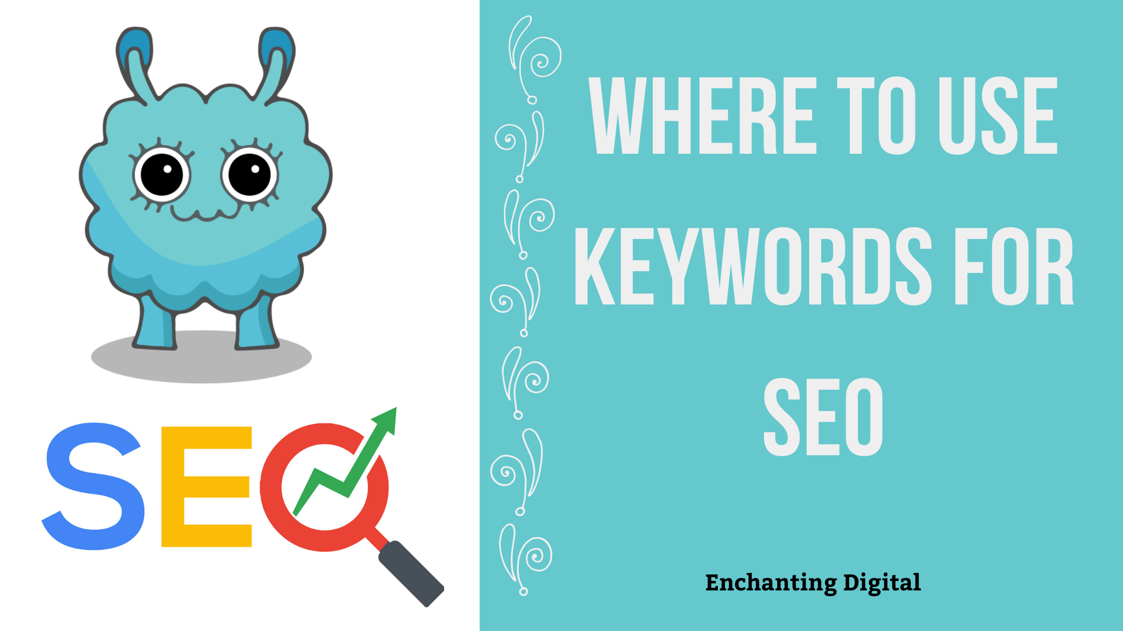 Where to Use Keywords for SEO